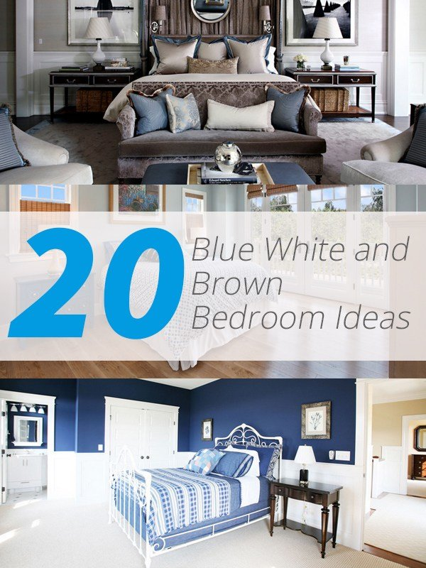 Best 20 Blue White And Brown Bedroom Ideas Home Design Lover With Pictures