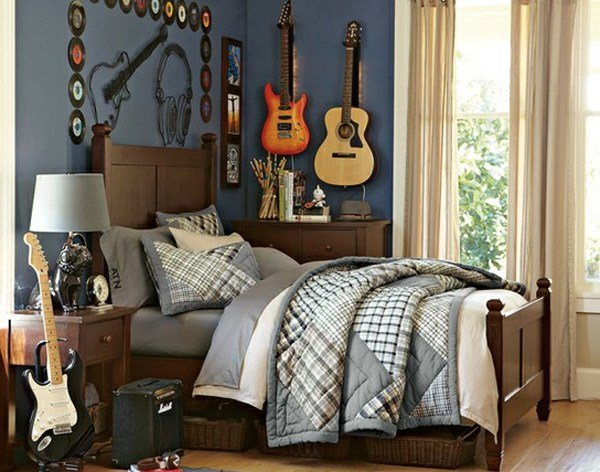 Best Boys Bedroom Ideas For Music Themed With Pictures