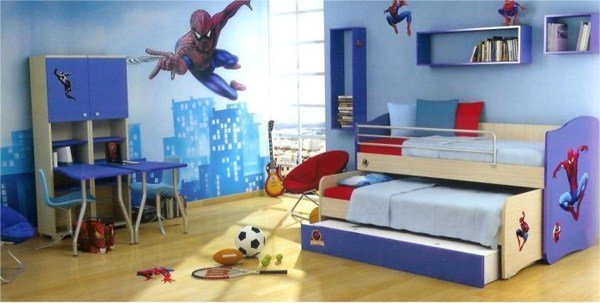 Best 15 Kids Bedroom Design With Spiderman Themes Home Design With Pictures