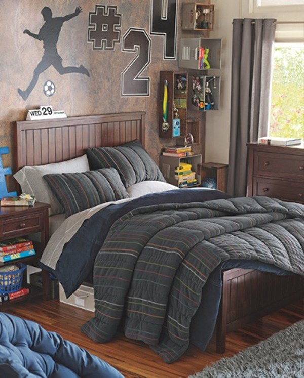 Best Cool Kids Football Bedroom Ideas With Pictures