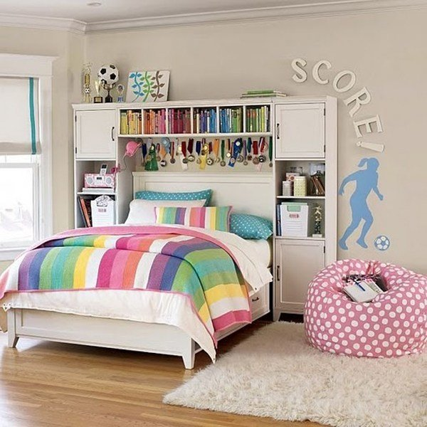 Best Girl Soccer Bedrooms With Pictures