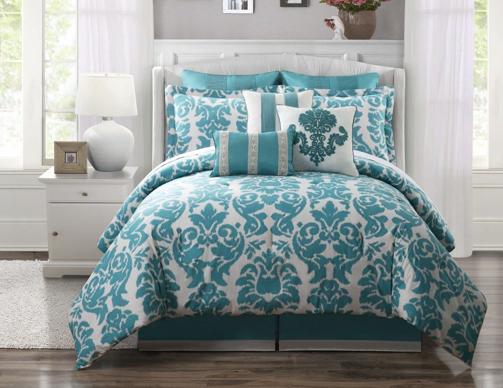 Best Teal Bed Sets Homesfeed With Pictures