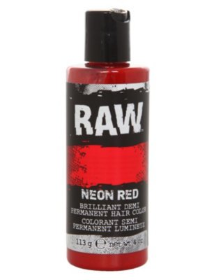 Free Raw Neon Red Demi Permanent Hair Color Hot Topic Wallpaper