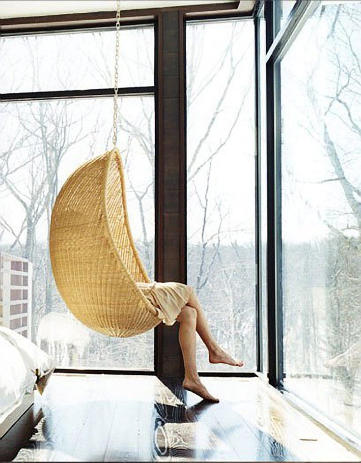 Best Design Crush The Rattan Hanging Chair House Of Hipsters With Pictures