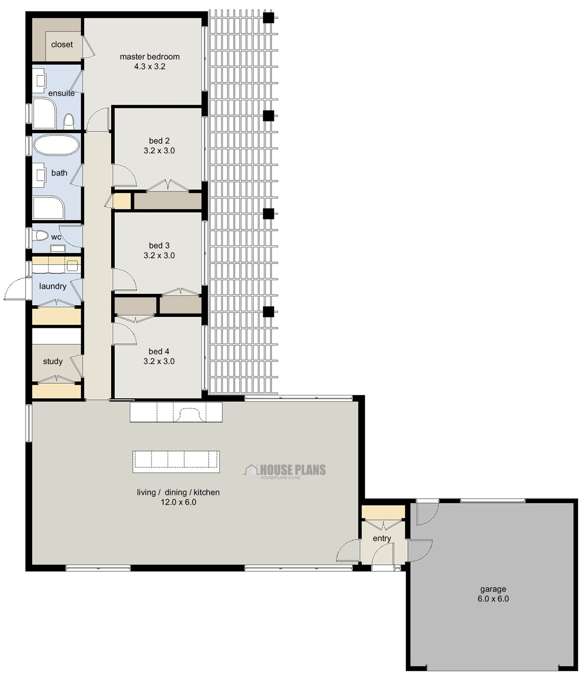 Best Zen Lifestyle 3 4 Bedroom House Plans New Zealand Ltd With Pictures