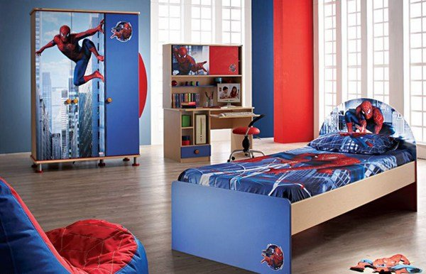 Best 20 Kids Bedroom Ideas With Spiderman Themed House Design And Decor With Pictures