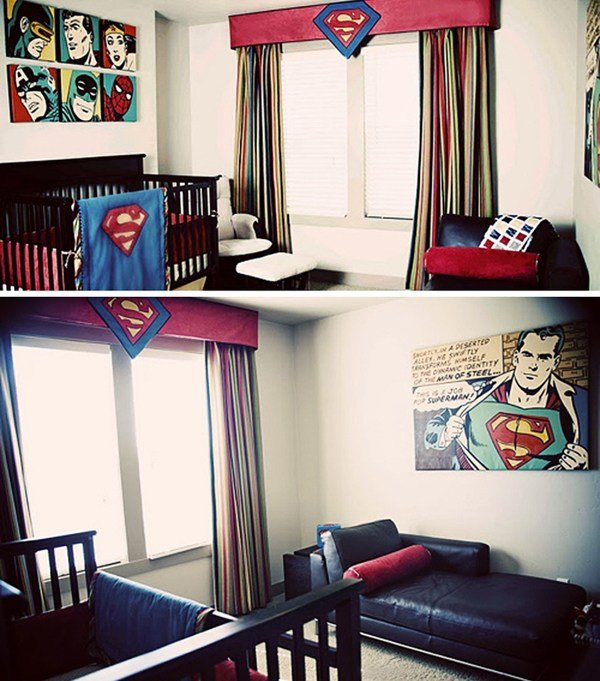 Best Coolest Kids Bedroom With Superman Themes House Design With Pictures
