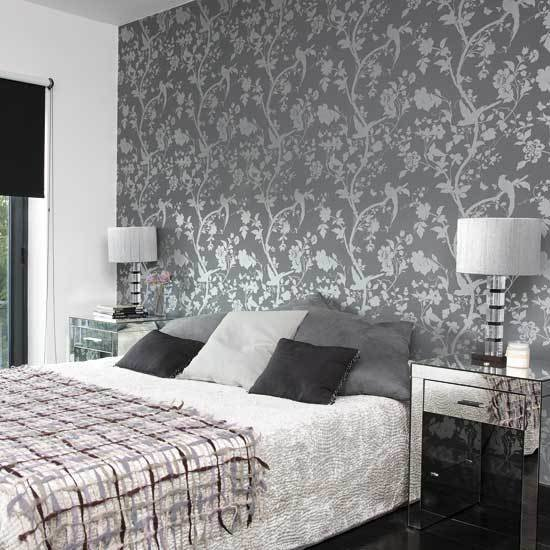 Best Gray Wallpaper Bedroom 2017 Grasscloth Wallpaper With Pictures