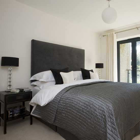 Best Black And White Bedroom Black And White Bedroom Ideas Housetohome Co Uk With Pictures
