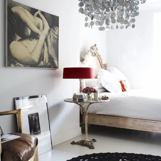 Best Eclectic Bedroom Bedroom Design Ideas Red Lamp With Pictures