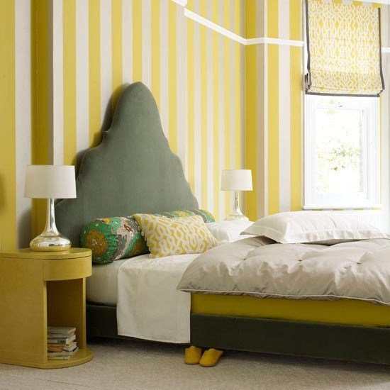 Best Play With Pattern Proportions Bedroom Wallpaper Ideas With Pictures