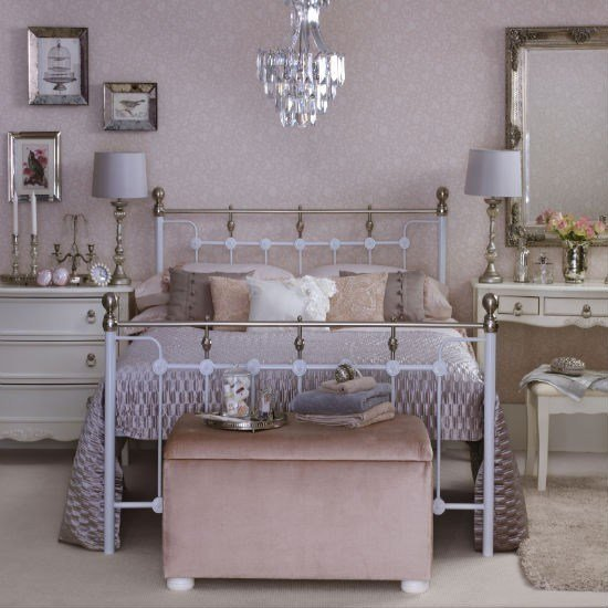 Best Vintage Style Pink Bedroom Bedroom Colour Schemes Housetohome Co Uk With Pictures
