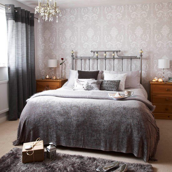 Best Silver Wallpaper Bedroom 2017 Grasscloth Wallpaper With Pictures