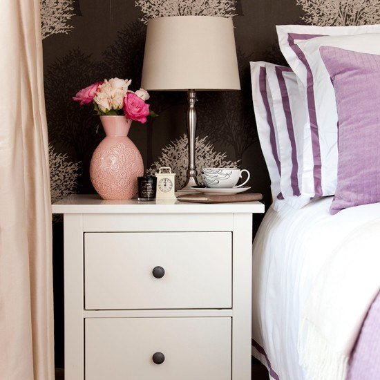 Best Cream And Lavender Bedroom Bedroom Decorating Ideas With Pictures