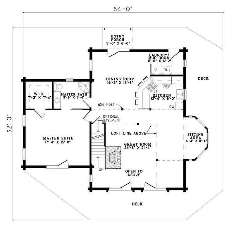 Best Plan 110 00913 3 Bedroom 2 Bath Log Home Plan With Pictures