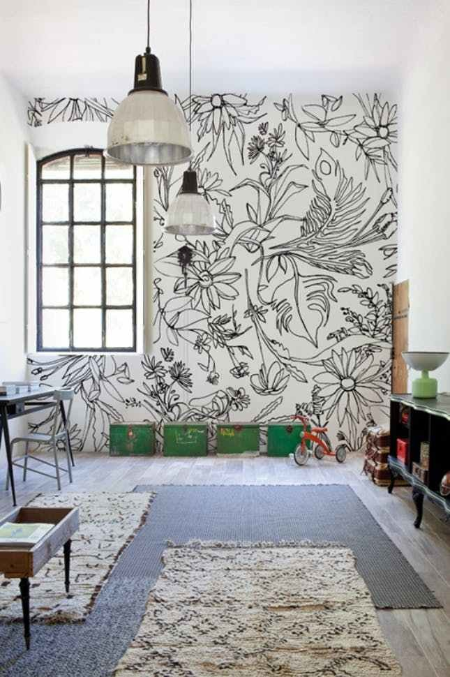 Best 48 Eye Catching Wall Murals To Buy Or Diy Brit Co With Pictures