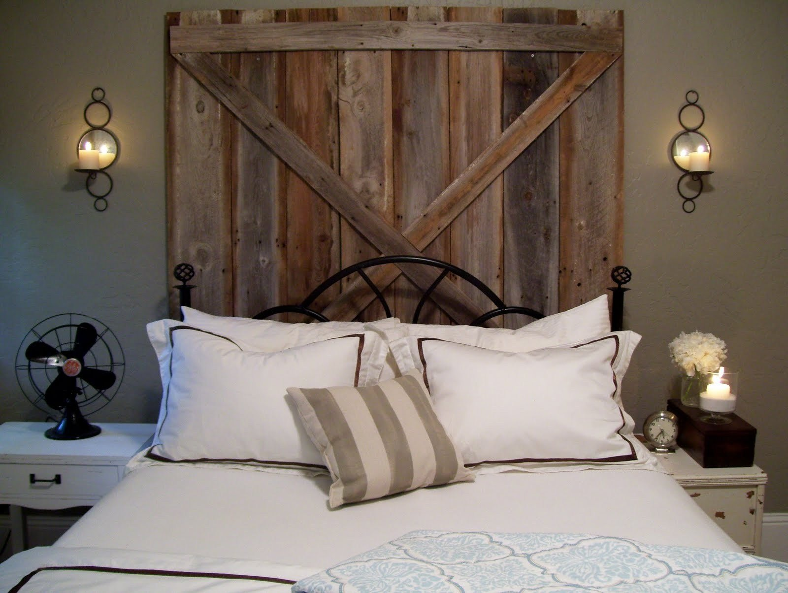 Best Bedroom Diy's Ten Diy Headboards Potentially Beautiful With Pictures