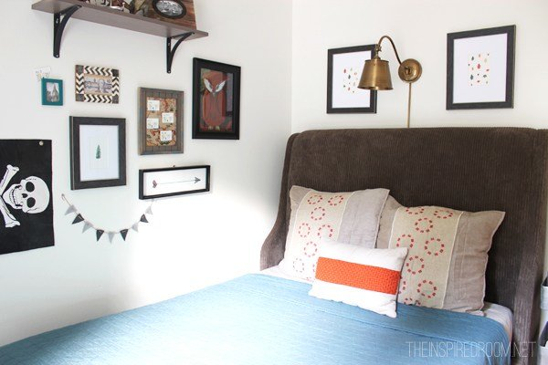 Best T**N Boy Bedroom Makeover Progress The New Bed The With Pictures