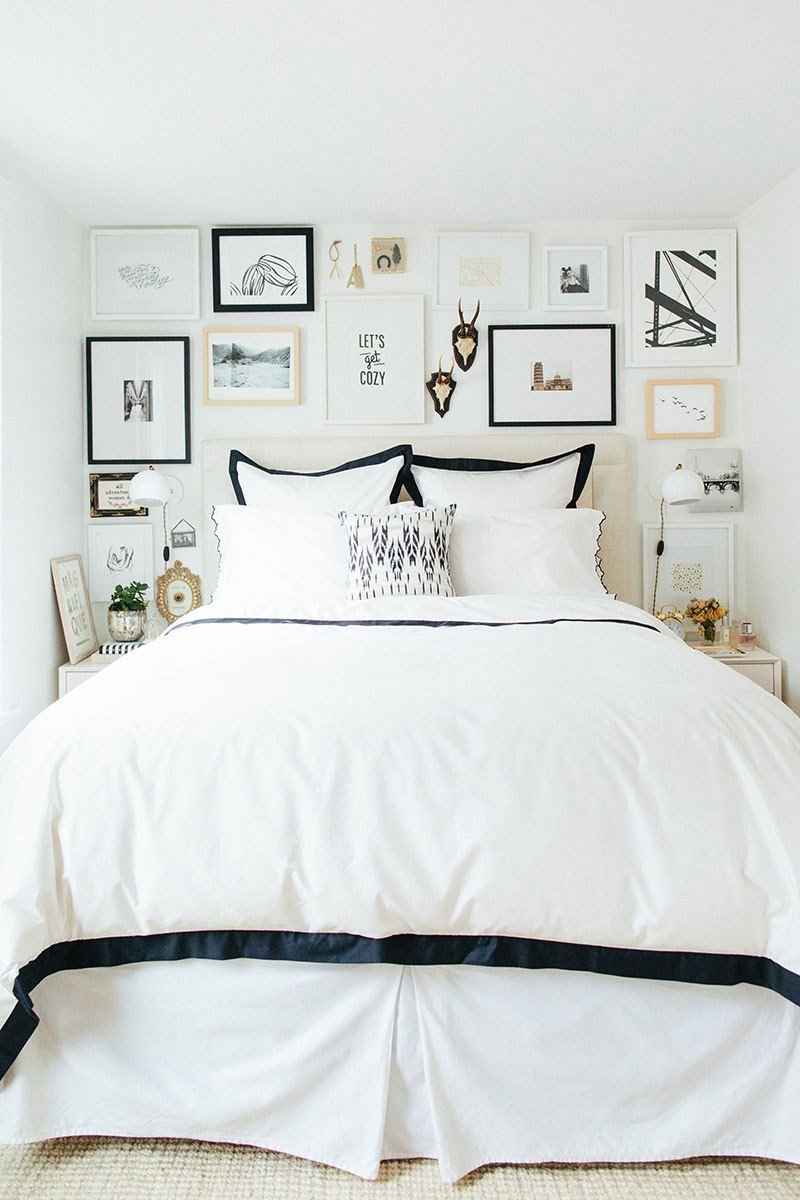 Best 9 Ways To Decorate Above A Bed The Inspired Room With Pictures
