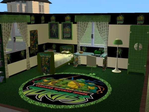 Best Mod The Sims Teenage Mutant Ninja Turtles Nursery And With Pictures
