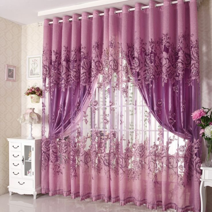 Best Elegant Purple Curtains For Bedroom Atzine Com With Pictures