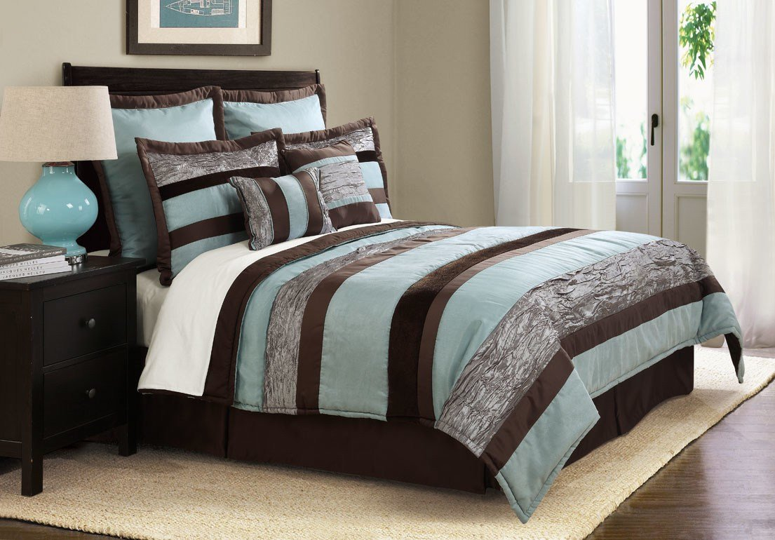 Best How To Design Teal And Brown Bedding Linens Atzine Com With Pictures