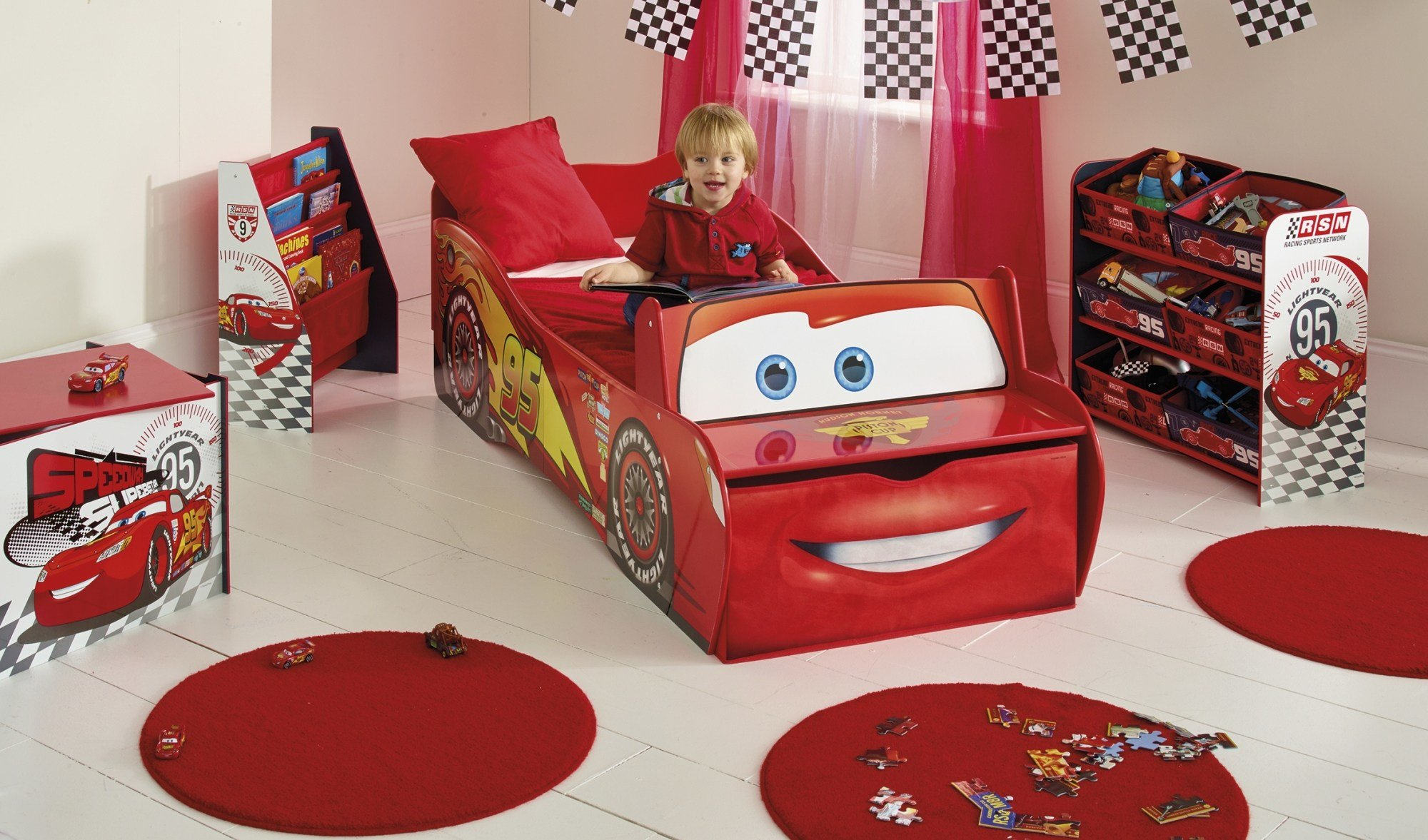 Best Decorate Boys Bedroom With Disney Cars Bedroom Ideas With Pictures