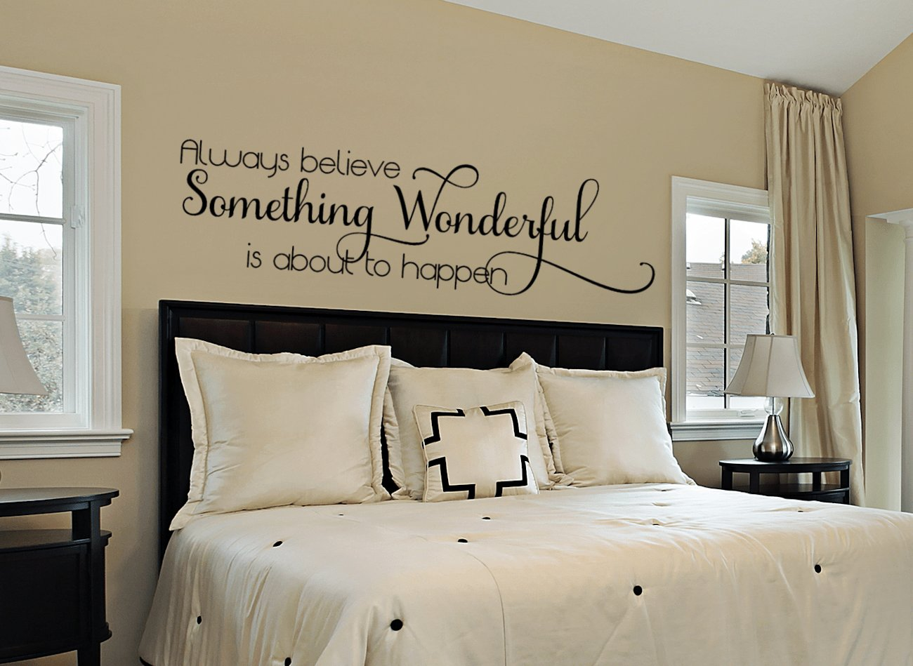 Best Inspirational Wall Decal Bedroom Wall Decal Bedroom Wall Vinyl Wall Decals By Amanda S With Pictures