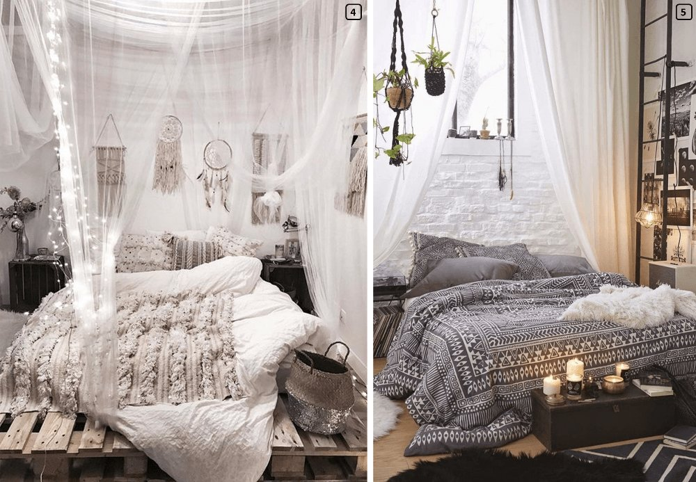 Best Bohemian Chic Decoration A Romantic Room Bnbstaging Le Blog With Pictures