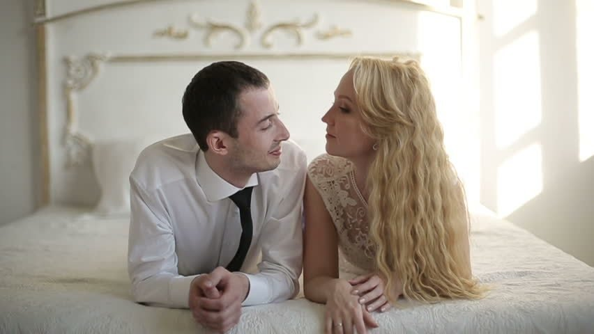 Best Couple Cuddling Bed Stock Footage Video Shutterstock With Pictures