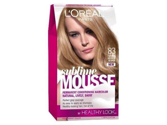 Free L Oreal Healthy Look Sublime Mousse Hair Color 83 Golden Wallpaper