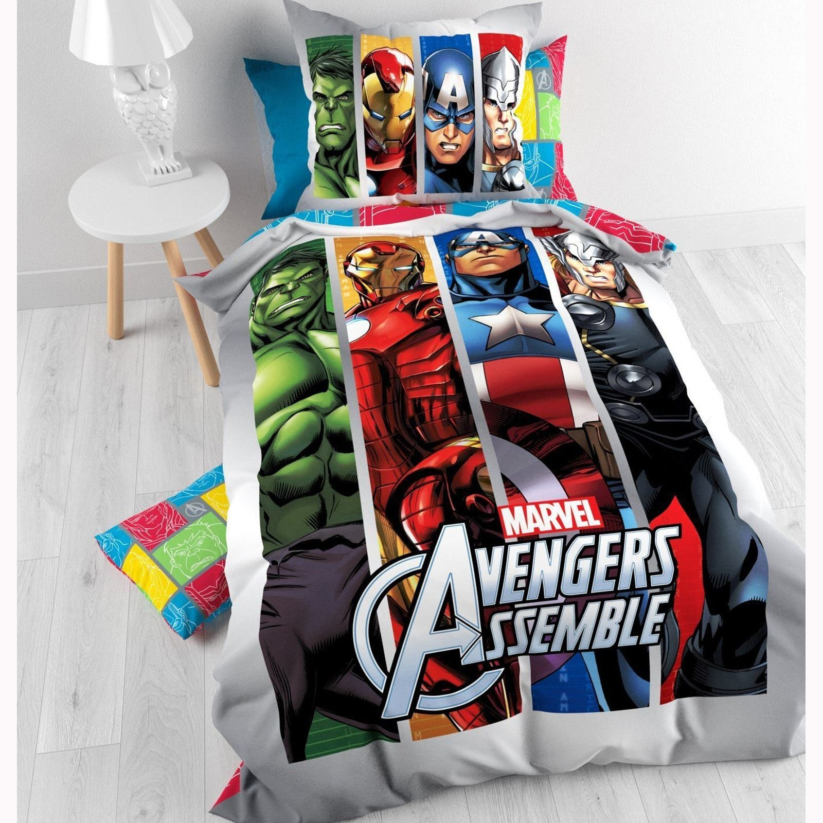 Best Official Avengers Marvel Comics Bedding Bedroom With Pictures