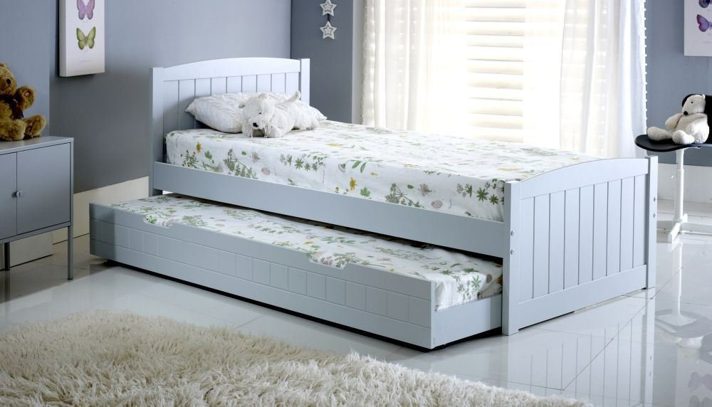Best Happy Beds Denver Guest Bed 3Ft Wooden Trundle Modern Bedroom Furniture Ebay With Pictures