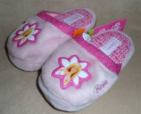 Best Barbie Childrens Bedroom Slippers Missy Pre T**N Sizes Ebay With Pictures