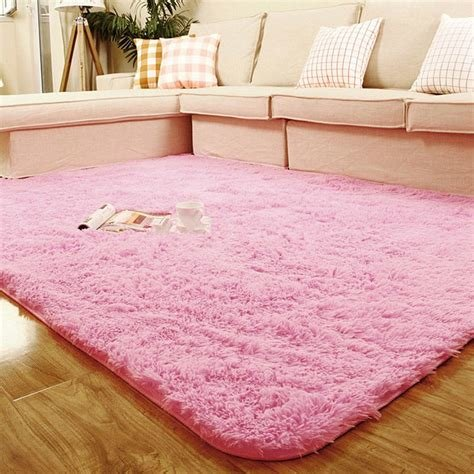 Best Shaggy Anti Skid Area Rug Dining Room Carpet Bedroom With Pictures