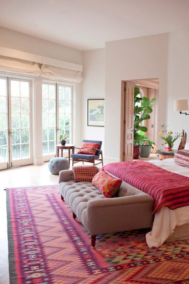 Best How To Use Patterned Rugs In Your Bedroom The Interior With Pictures