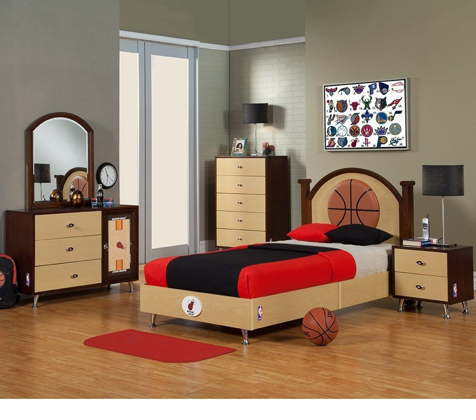 Best Interesting Sports Themed Bedrooms For Kids Interior With Pictures Original 1024 x 768