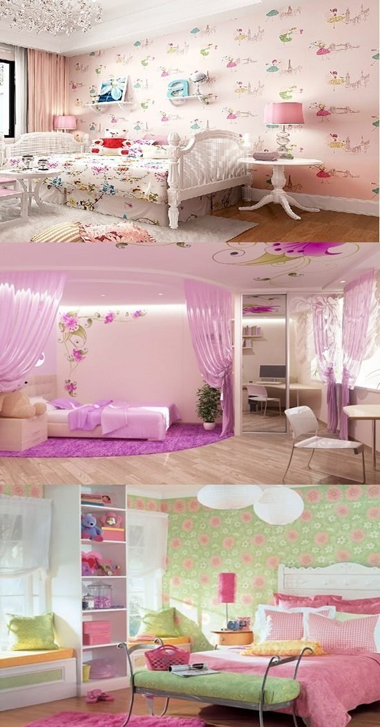 Best Wallpaper Border For Teenage Girls Bedroom Interior Design With Pictures