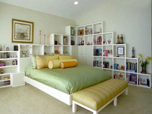 Best Practical Storage Solutions For Small Bedrooms Interior With Pictures