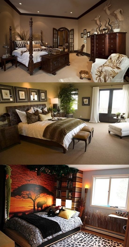 Best African Safari Bedroom Curtain Ideas Interior Design With Pictures
