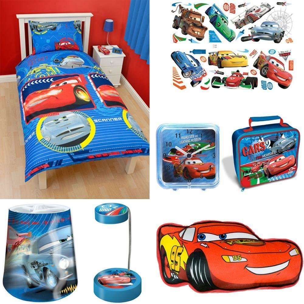 Best Disney Cars Bedroom Accessories Bedding Stickers With Pictures