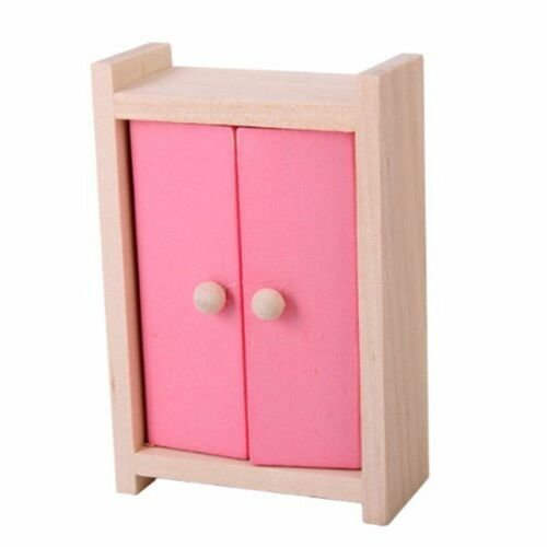 Best Wooden Barbie Dollhouse Tinyature Furniture *D*Lt Bedroom With Pictures