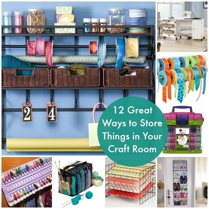 Best 12 Awesome Ways To Store Things In Your Craft Room Ebay With Pictures