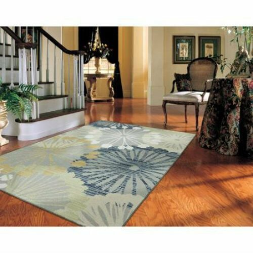 Best New Medallion Star Turquoise Blue Yellow Gray Area Rug With Pictures