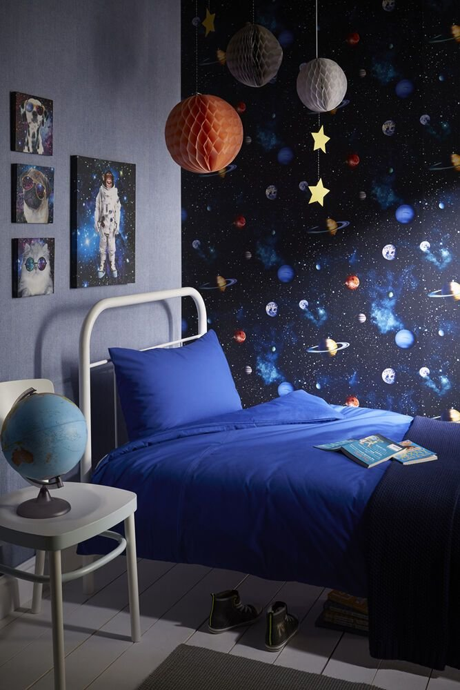 Best Cosmos Space Themed Room Concept Teenage Boys Bedroom With Pictures