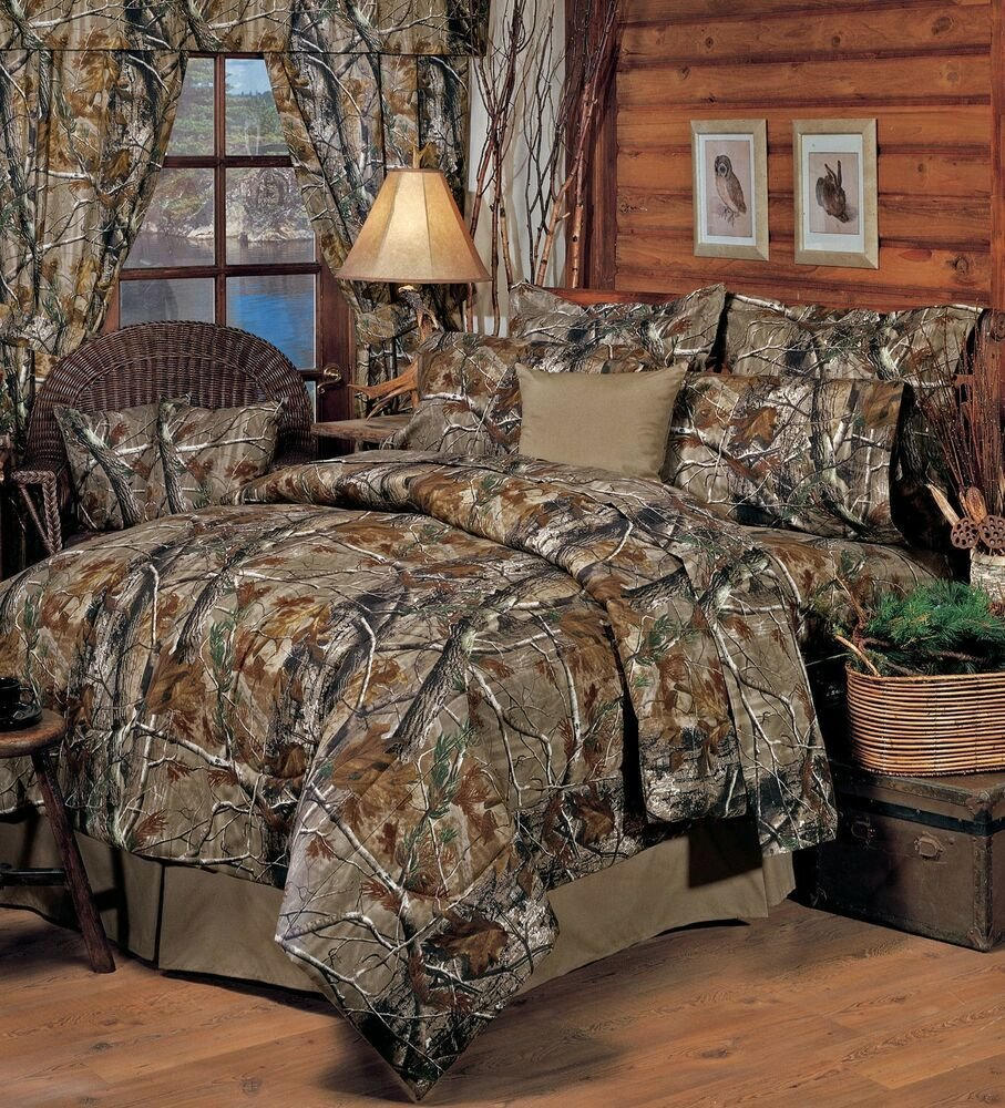 Best Realtree® Ap All Purpose Camo Bedding Comforter Set Sheets 5 Sizes Bed In Bag Ebay With Pictures