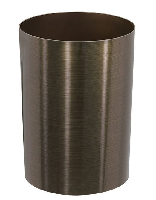 Best New Garbage Waste Trash Can Metallic Bedroom Office With Pictures