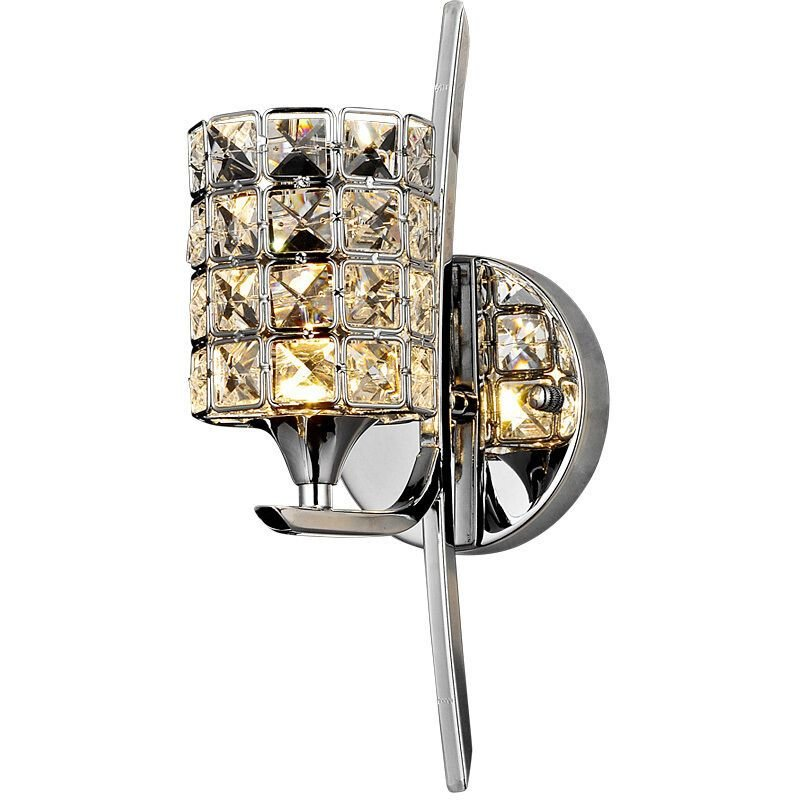 Best Crystal Torch Bedroom Wall Lamp Bathroom Mirror Front Wall With Pictures