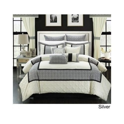 Best Bedroom Comforter Set 25 Piece Bed In A Bag With Sheets Curtains Guest Room Ebay With Pictures