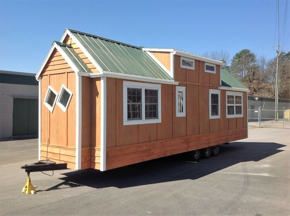 Best No Reserve Sale Cabin Tiny House Cottage Home On Wheels With Pictures